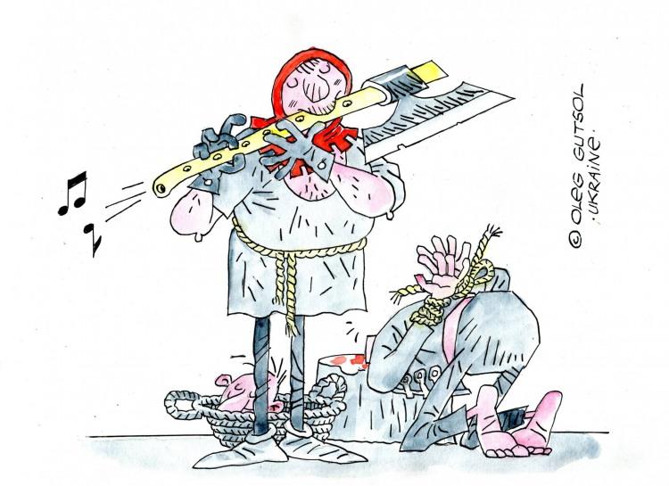 Игра на флейте палача
