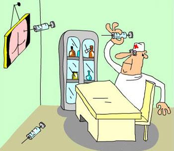 Медицинские дротики